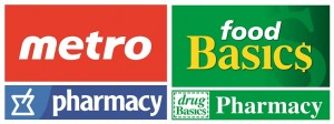 Metro and Food Basics Pharmacies